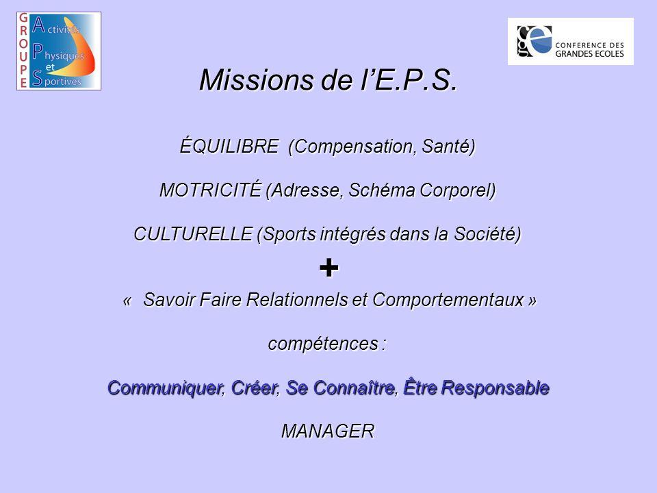 Missions de lE.P.S.