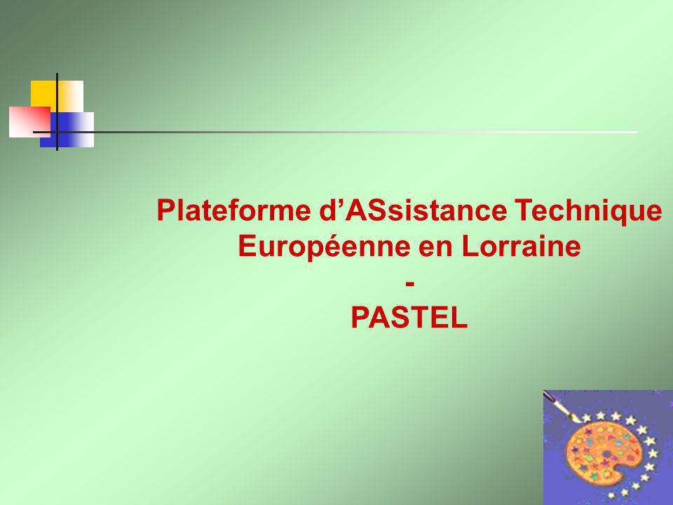 Plateforme dASsistance Technique Européenne en Lorraine - PASTEL