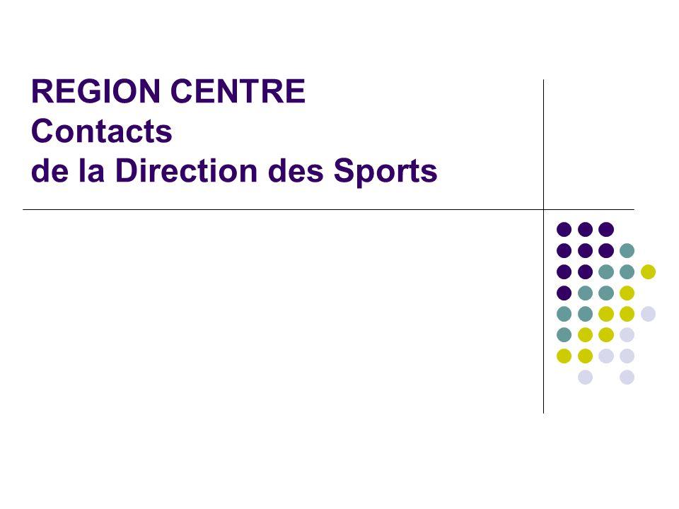 Adresse postale : Conseil Régional du Centre Direction Générale Culture et Sports 9, rue Saint-Pierre Lentin 45041 ORLEANS CEDEX 1