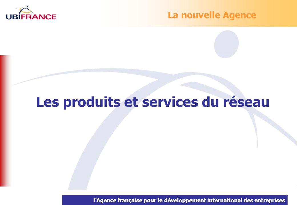 lAgence française pour le développement international des entreprises La nouvelle Agence Les produits et services du réseau