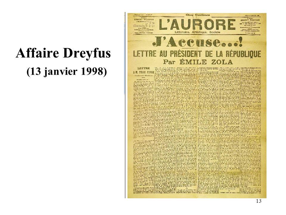 13 Affaire Dreyfus (13 janvier 1998)