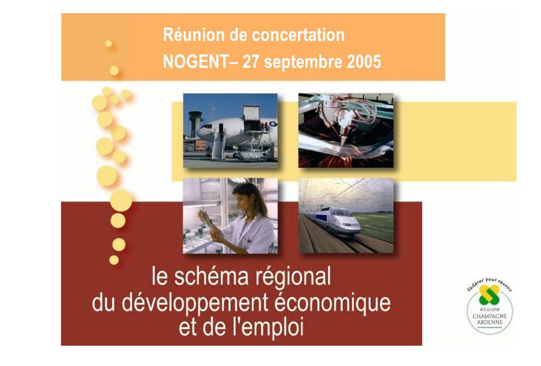 Réunion de concertation NOGENT– 27 septembre 2005