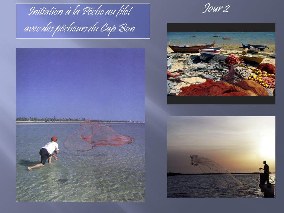 Initiation à la Pêche au filet avec des pêcheurs du Cap Bon Jour 2