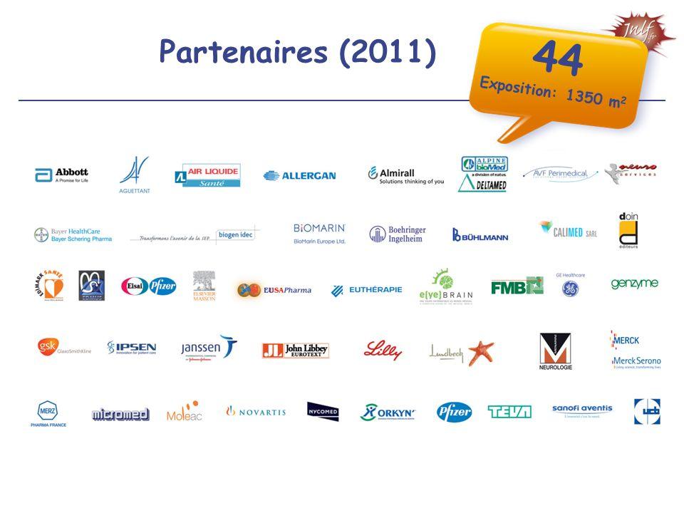Partenaires (2011) 44 Exposition: 1350 m 2