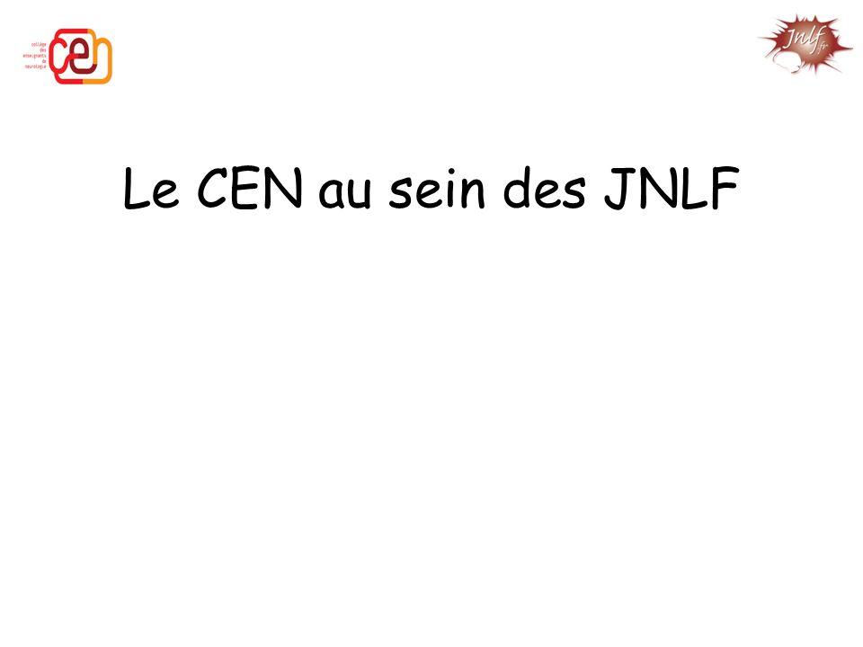 Le CEN au sein des JNLF