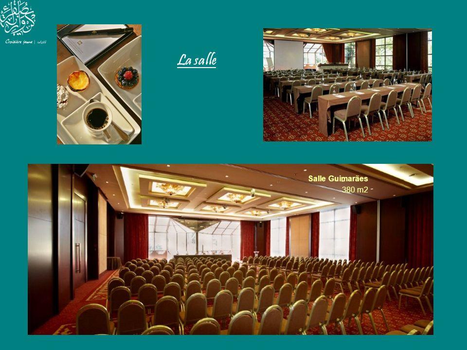 La salle Salle Guimarães 380 m2
