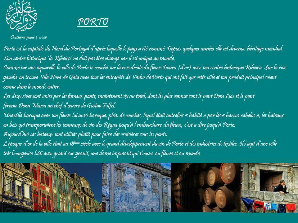 PORTO Porto est la capitale du Nord du Portugal daprès laquelle le pays a été nommé. Depuis quelques années elle est devenue héritage mondial. Son cen