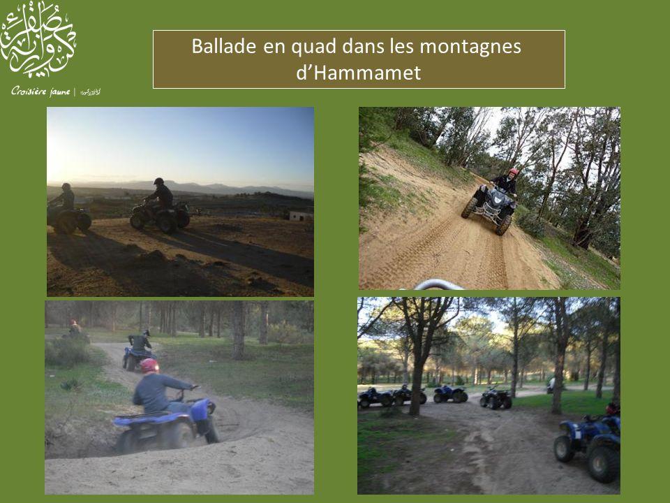 Ballade en quad dans les montagnes dHammamet