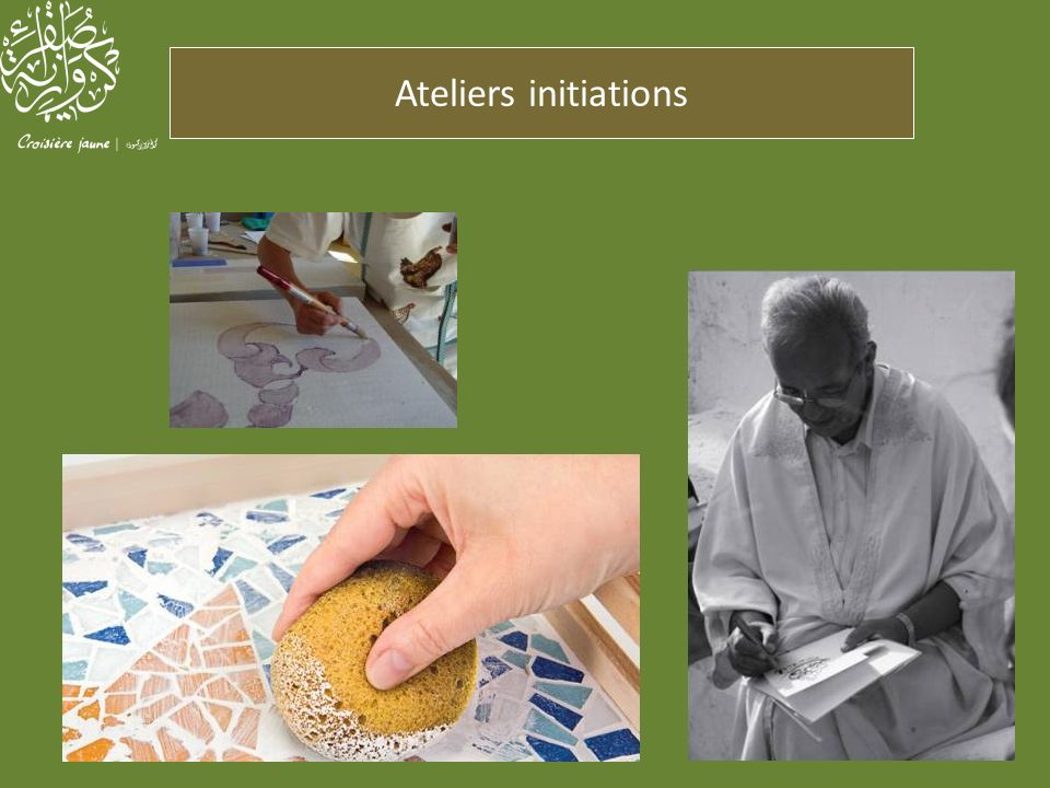 Ateliers initiations
