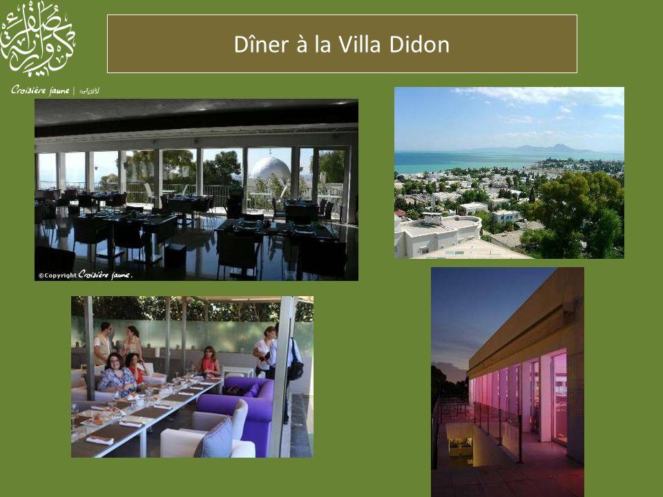 Dîner à la Villa Didon