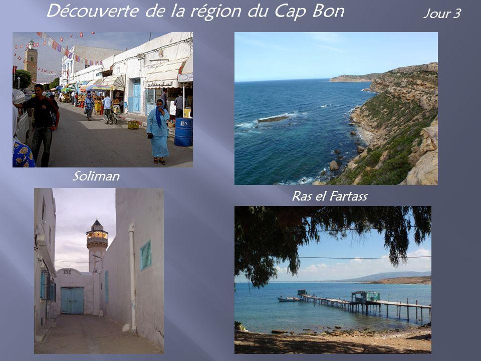 Découverte de la région du Cap Bon Soliman Ras el Fartass Jour 3