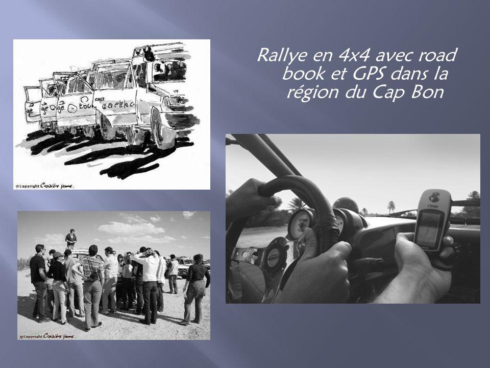 Rallye en 4x4 avec road book et GPS dans la région du Cap Bon