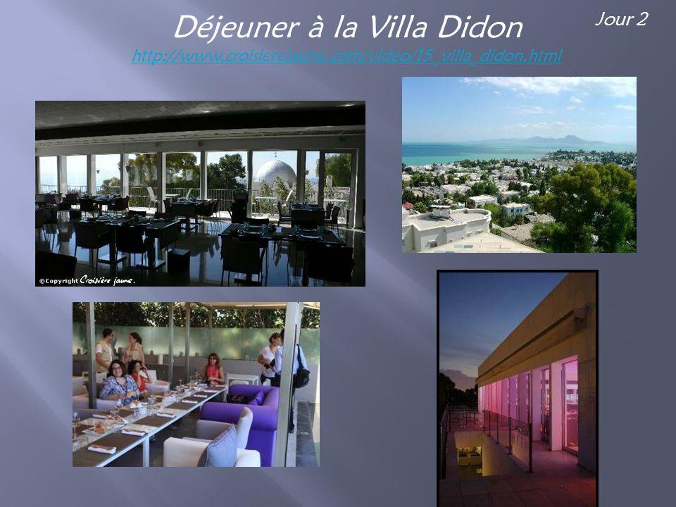 Dîner dans un salon privé du Palais Dar El Jeld Jour 3