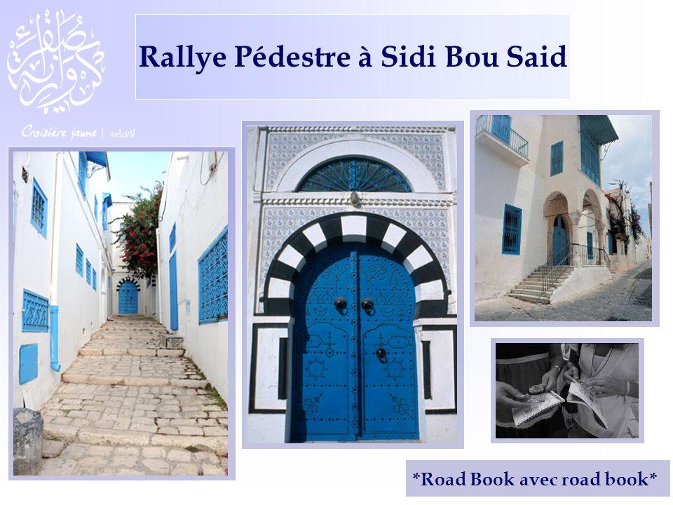 *Road Book avec road book* Rallye Pédestre à Sidi Bou Said