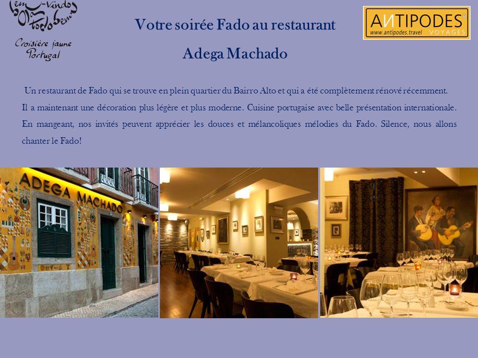Un restaurant de Fado qui se trouve en plein quartier du Bairro Alto et qui a été complètement rénové récemment. Il a maintenant une décoration plus l