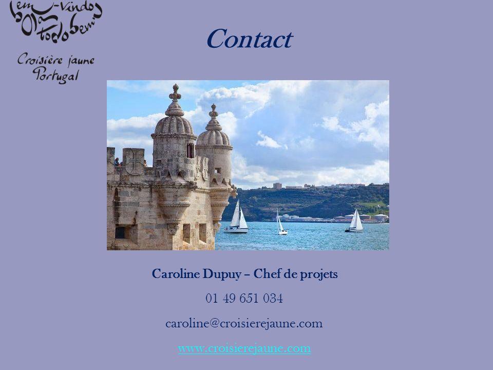Caroline Dupuy – Chef de projets 01 49 651 034 caroline@croisierejaune.com www.croisierejaune.com Contact
