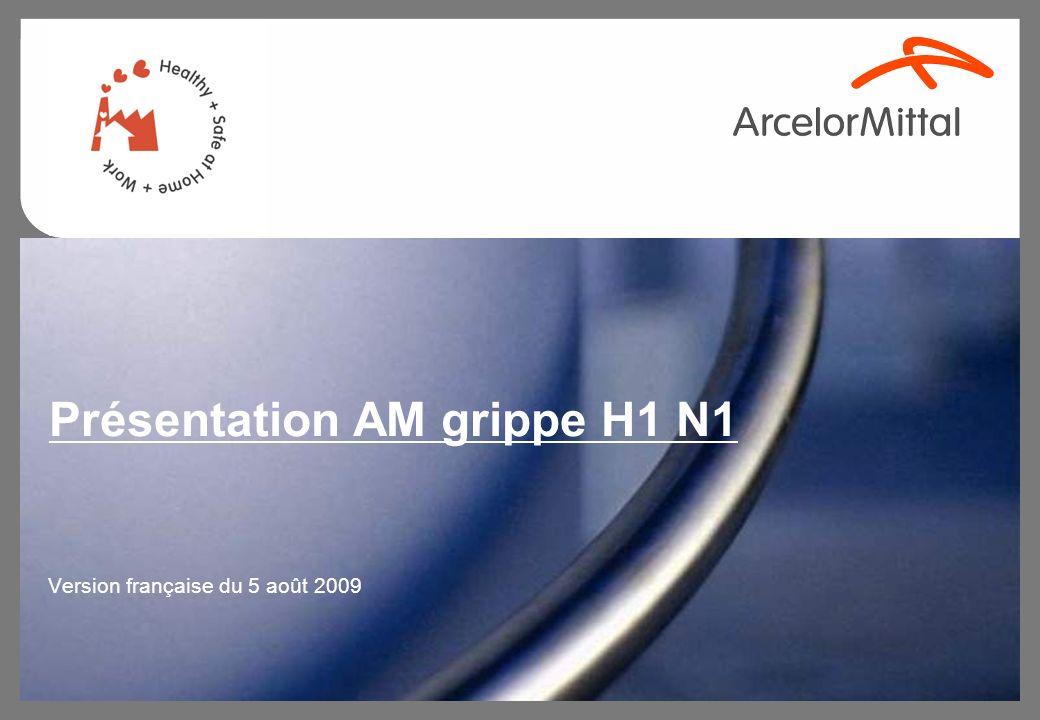Présentation AM grippe H1 N1 Version française du 5 août 2009