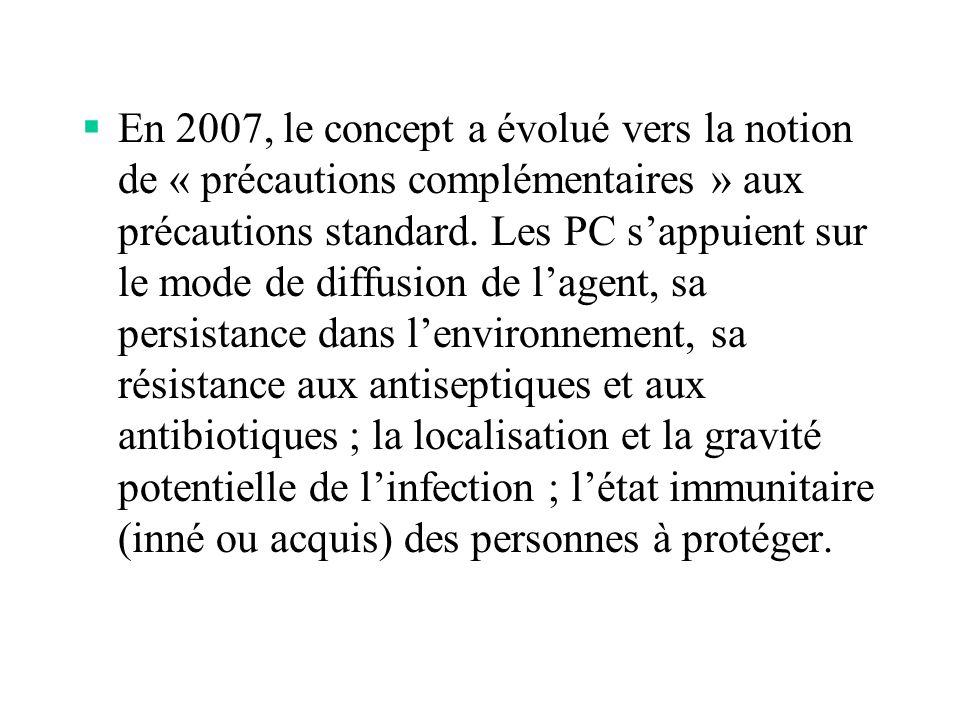 4) Éléments de surveillance : Évaluation de lisolement technique :