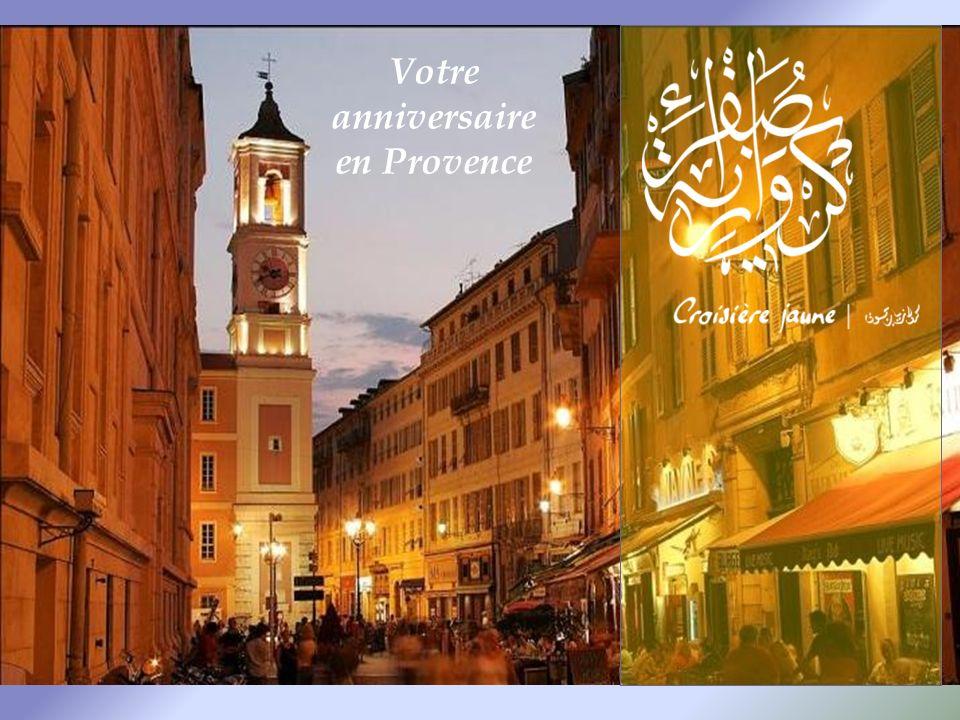Votre anniversaire en Provence