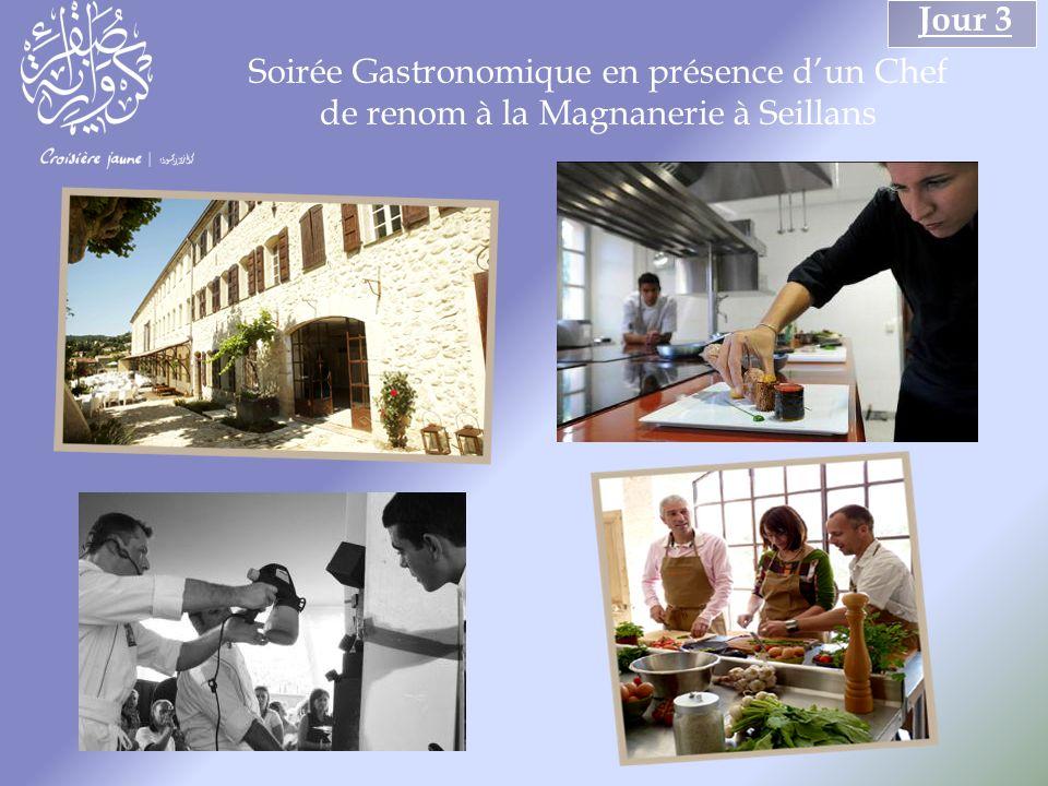 Soirée Gastronomique en présence dun Chef de renom à la Magnanerie à Seillans Jour 3