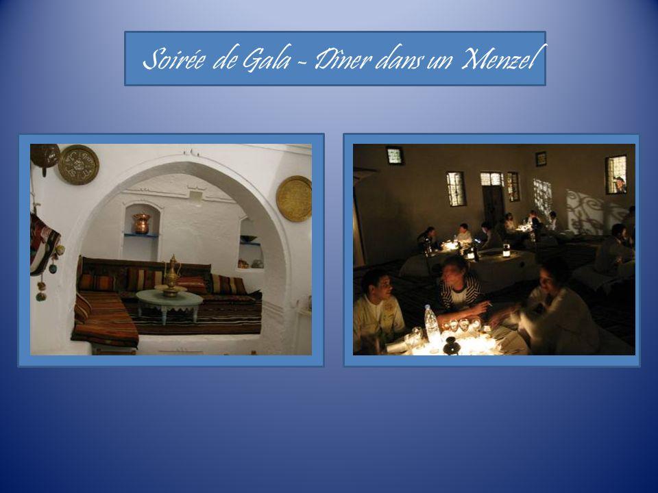 Soirée de Gala - Dîner dans un Menzel