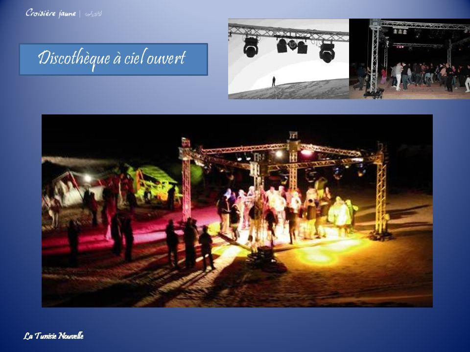 Discothèque à ciel ouvert La Tunisie Nouvelle