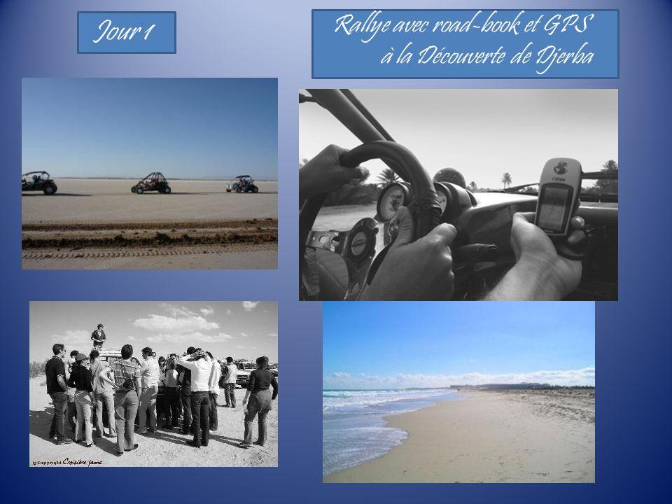 Rallye avec road-book et GPS à la Découverte de Djerba Jour 1