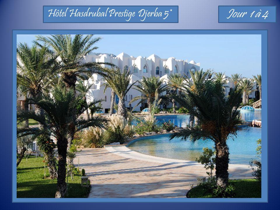 Hôtel Hasdrubal Prestige Djerba 5* Jour 1 à 4