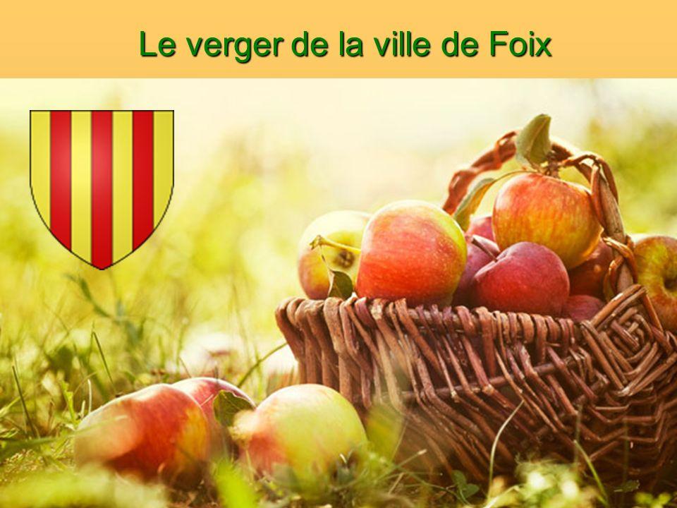 Le verger de la ville de Foix