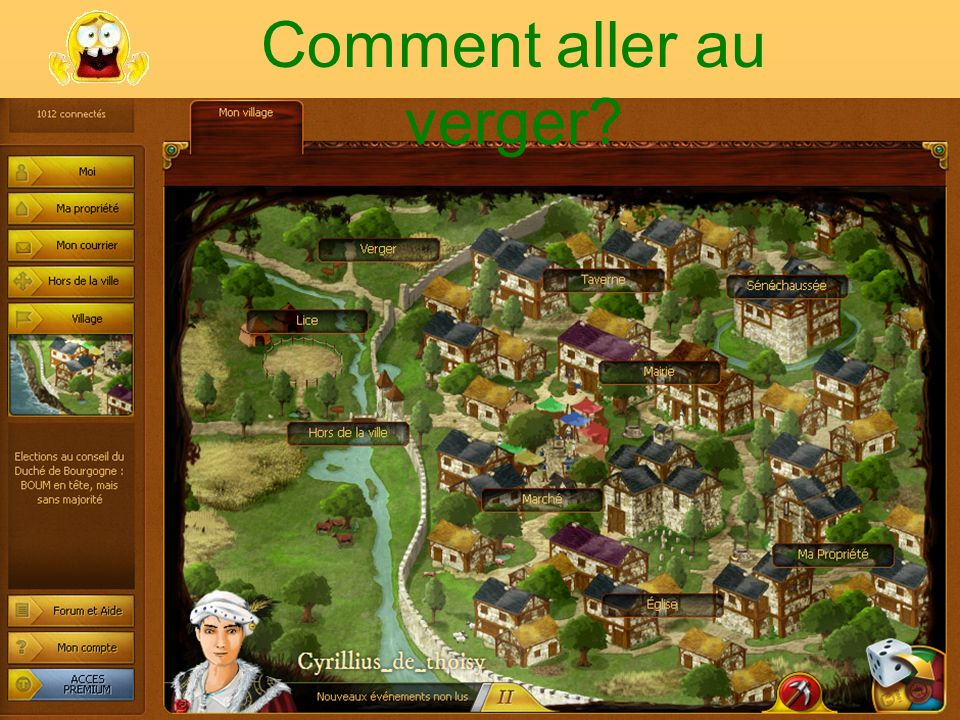 Interface du Village