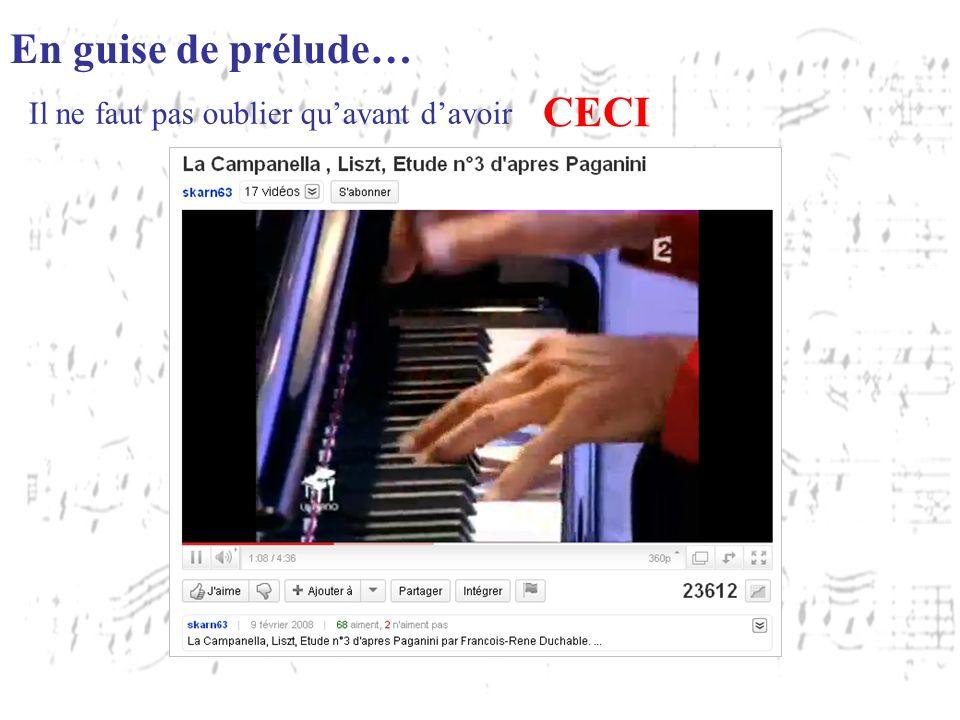 LES PARTITIONS EN LIGNE Offre payante Offre gratuite Gallica http://www.noviscore.fr http://www.stretta-music.com/fr http://www.8notes.com http://partitions.metronimo.com/ http://gallica.bnf.fr/ Mais il faut … les imprimer avant davoir :