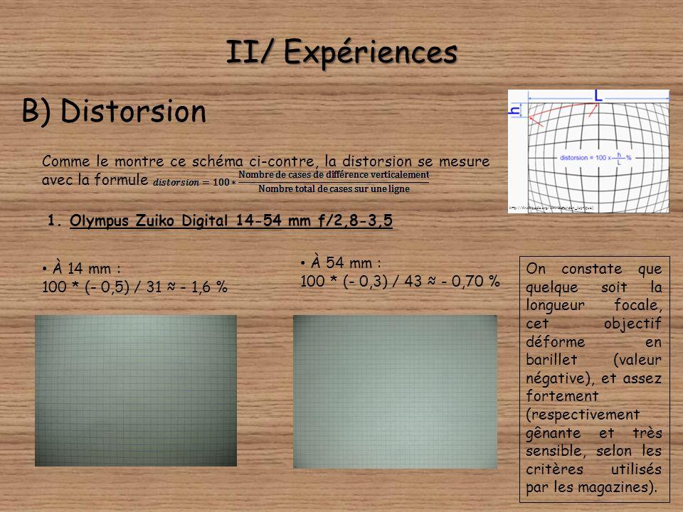 II/ Expériences A) Aberrations chromatiques Nous allons tout de même, à titre de comparaison, vous montrer une des images prises avec le 70-300, à ple