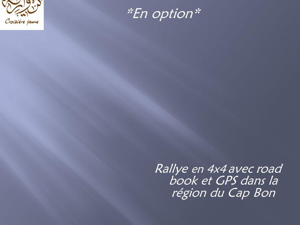 Rallye en 4x4 avec road book et GPS dans la région du Cap Bon *En option*