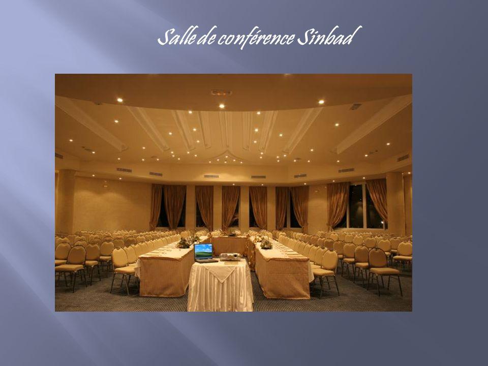 Salle de conférence Sinbad