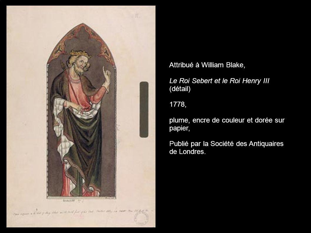 Thomas Phillips, Portrait of William Blake, 1807, National Portrait Gallery, Londres.