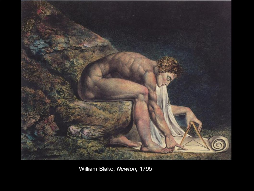 William Blake, Newton, 1795