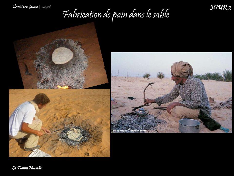 Fabrication de pain dans le sable La Tunisie Nouvelle JOUR 2