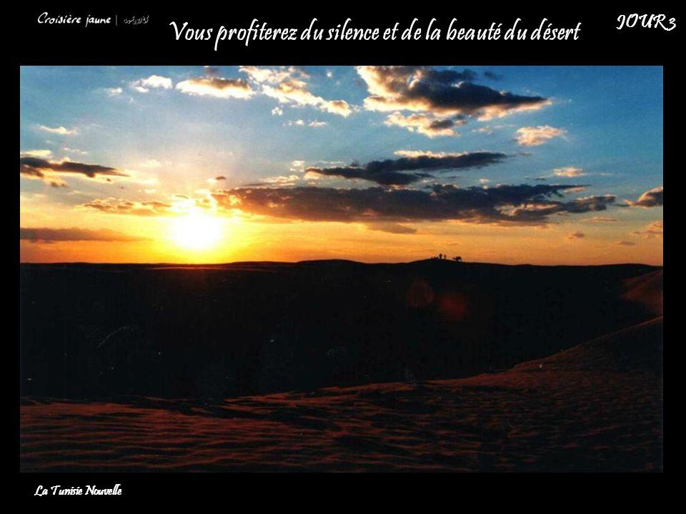 Vous profiterez du silence et de la beauté du désert La Tunisie Nouvelle JOUR 3