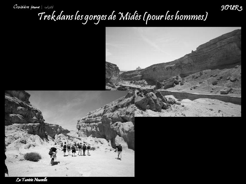 Trek dans les gorges de Midès (pour les hommes) La Tunisie Nouvelle JOUR 3