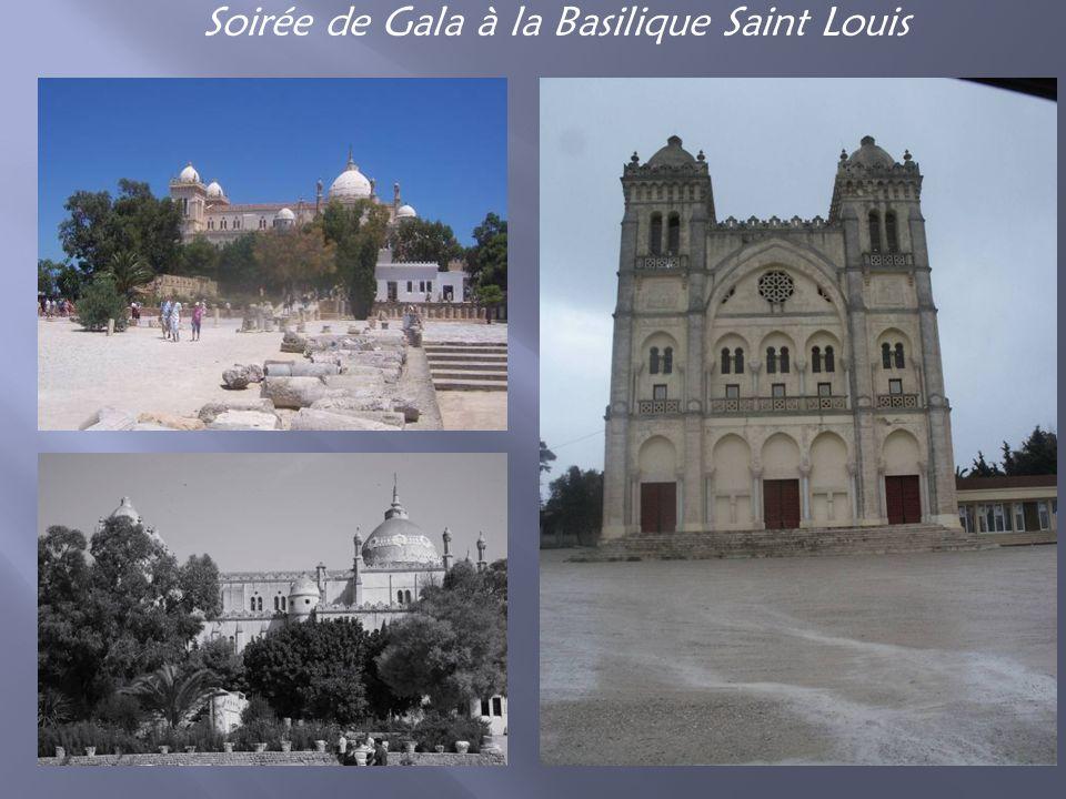 Soirée de Gala à la Basilique Saint Louis
