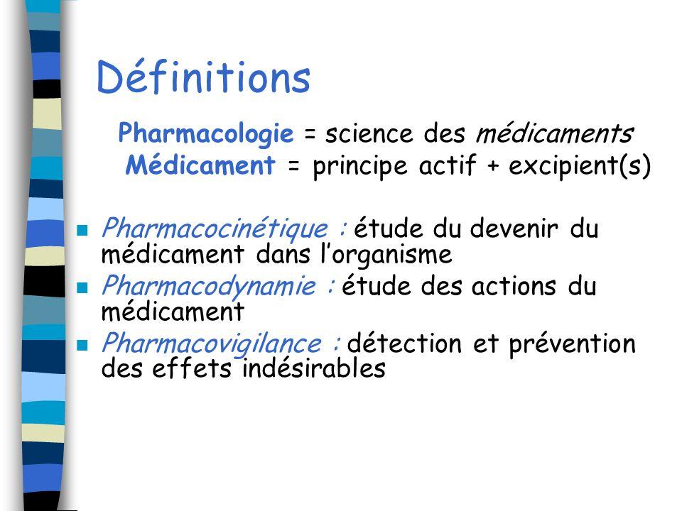 Ladministration par une voie dadministration dune dose unique ou de doses répétées d1 PA contenu dans une forme pharmaceutique a pour but dobtenir un effet pharmacothérapeutique chez un malade
