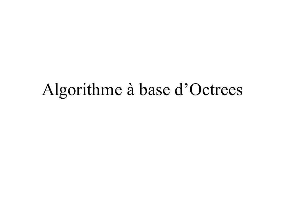 Algorithme à base dOctrees