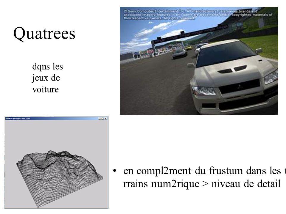 Quatrees en compl2ment du frustum dans les te rrains num2rique > niveau de detail dqns les jeux de voiture