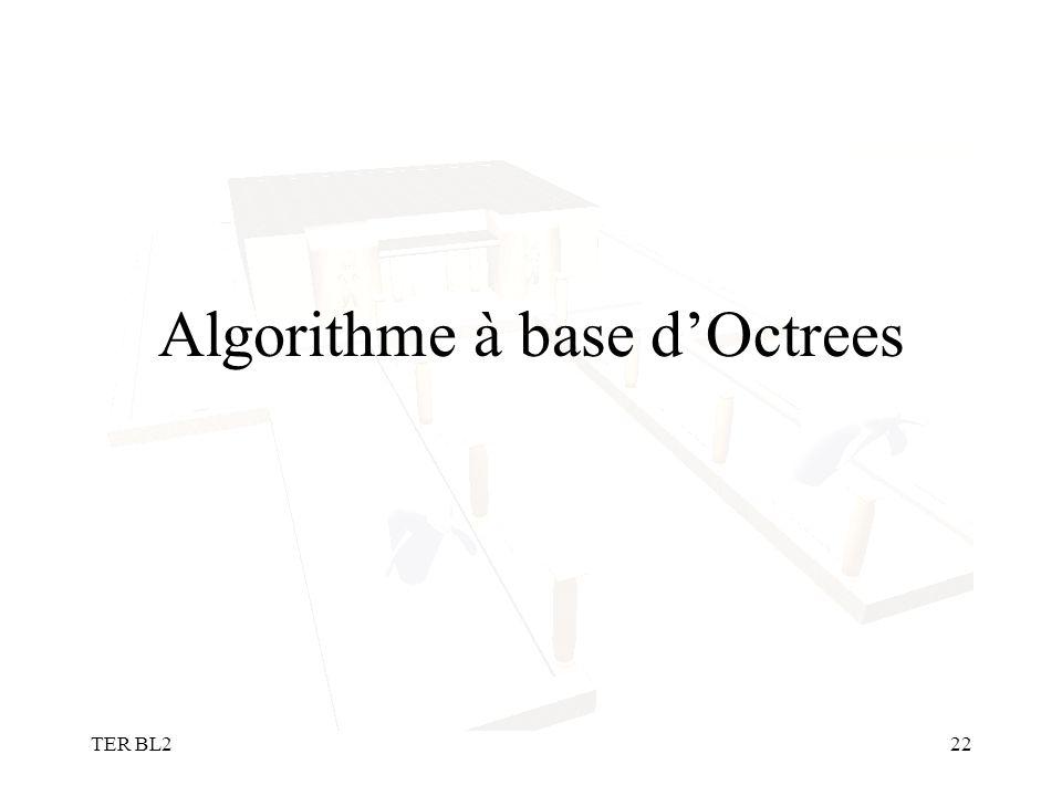 TER BL222 Algorithme à base dOctrees