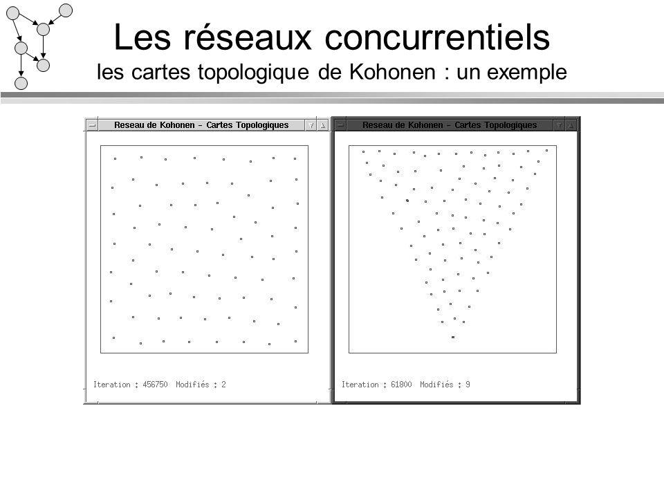 Les réseaux concurrentiels les cartes topologique de Kohonen : un exemple