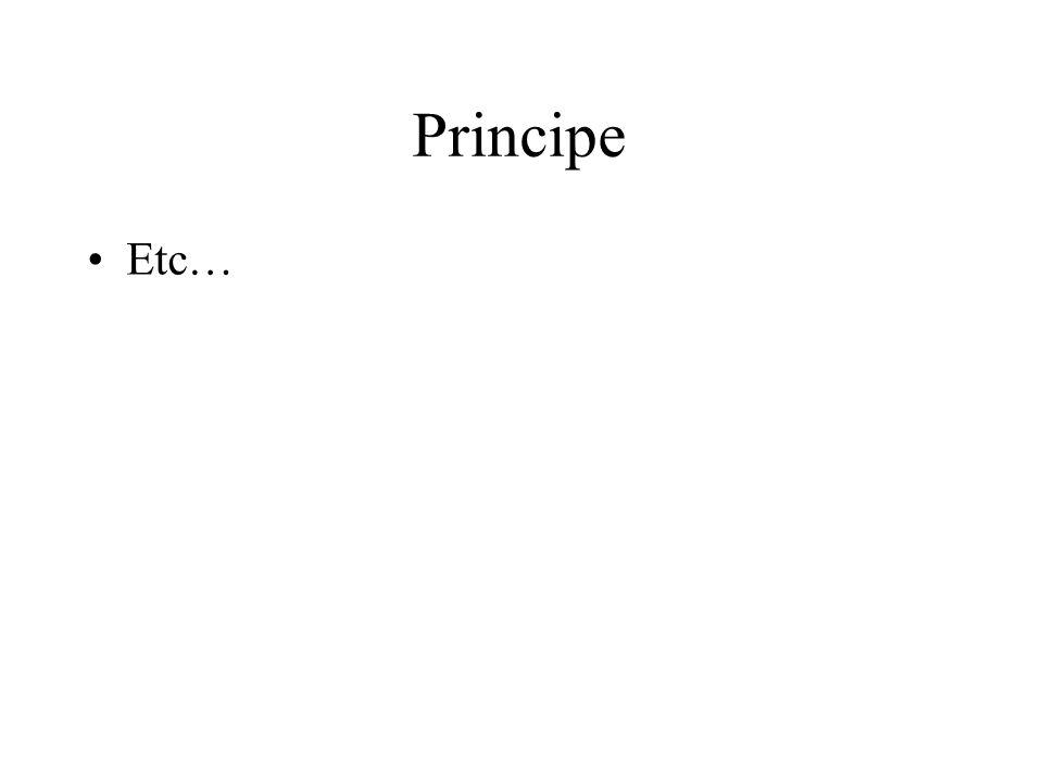 Principe Etc…