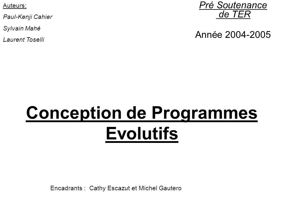 Moteur de sélection –Composition du moteur général: moteur dinférences algorithmes génétiques (générateur de classeurs).