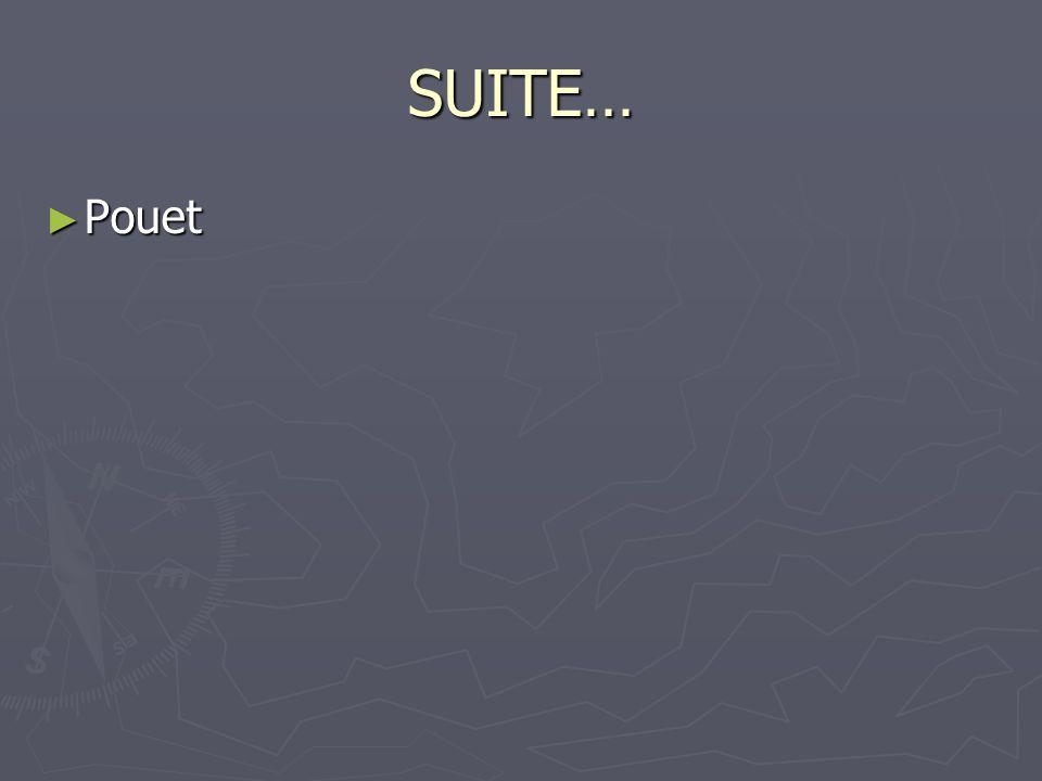 SUITE… Pouet Pouet