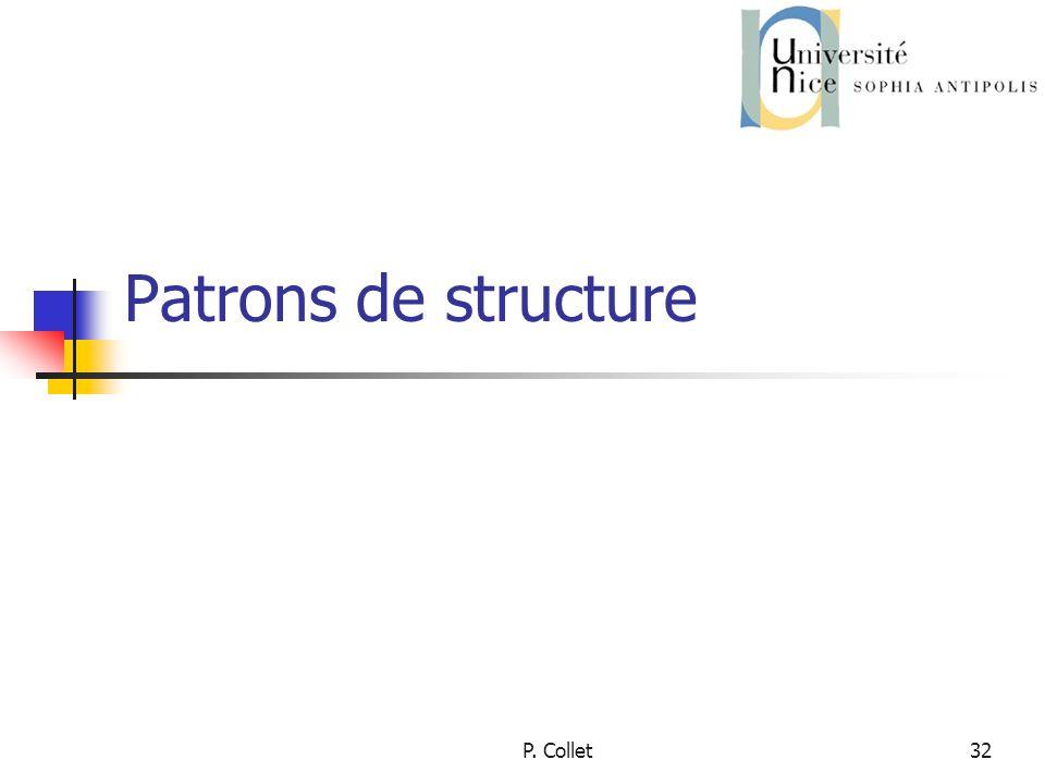 P. Collet32 Patrons de structure