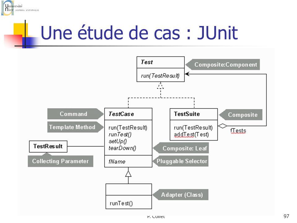 P. Collet97 Une étude de cas : JUnit
